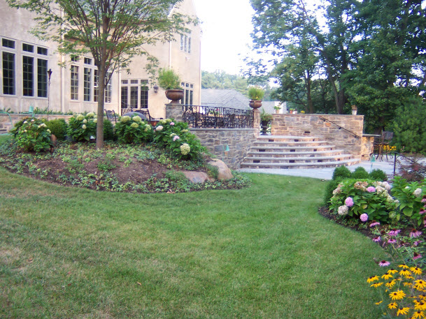 Backyard Landscape Dewane Landscape and Design
