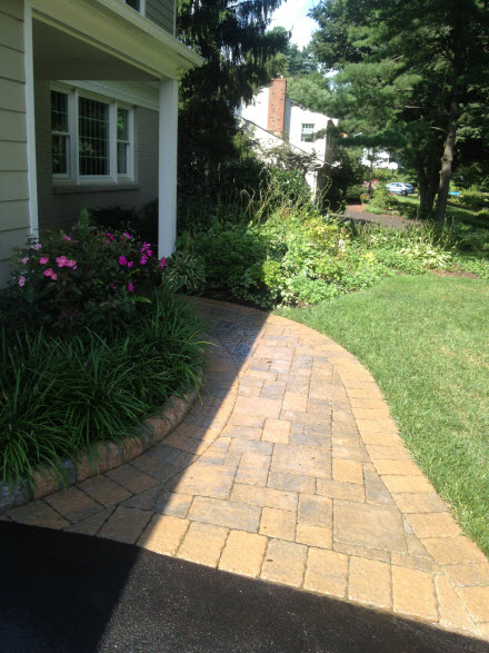 Stone Walkway Dewane Landscape and Design