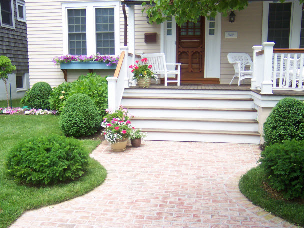Front Walkway and Landscape