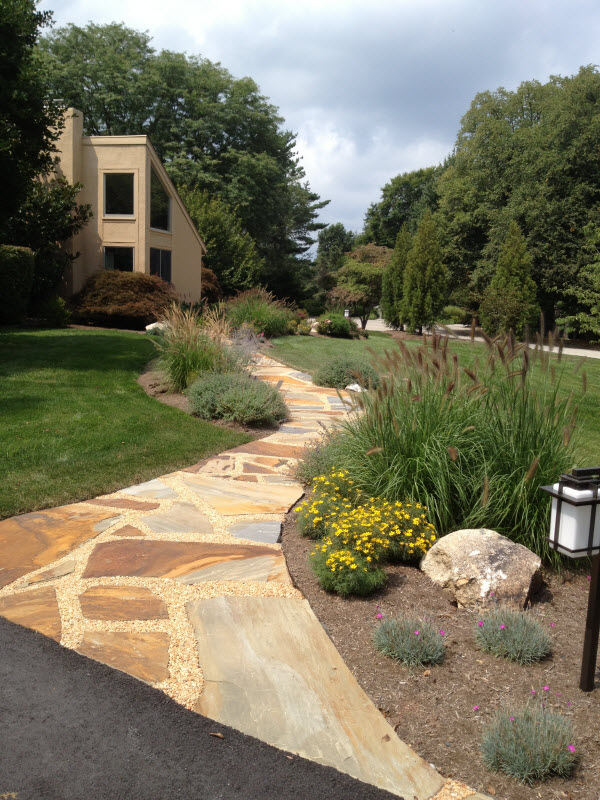 Stone Walkway | DeWane Landscape and Design