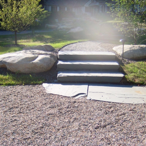 Stone Steps and Pathway