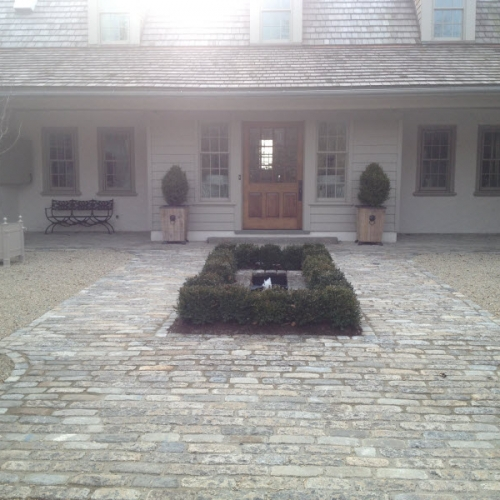 Courtyard Pavers | DeWane Landscape and Design