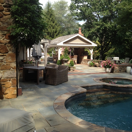 Patio and Pool | DeWane Landscape and Design
