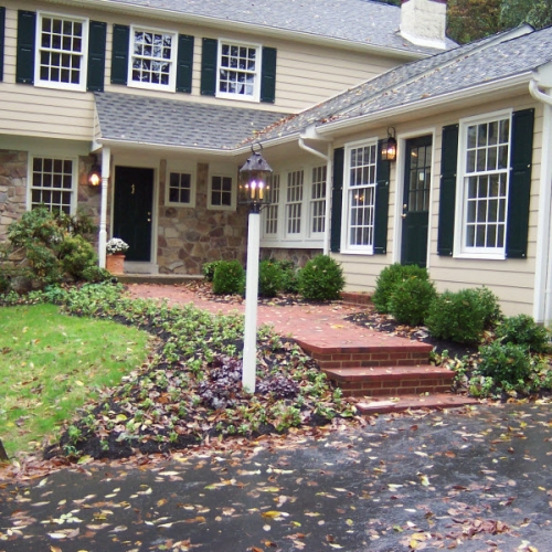 Front Walkway | DeWane Landscape and Design