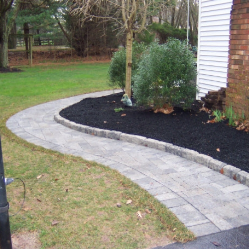New Walkway Dewane Landscape and Design