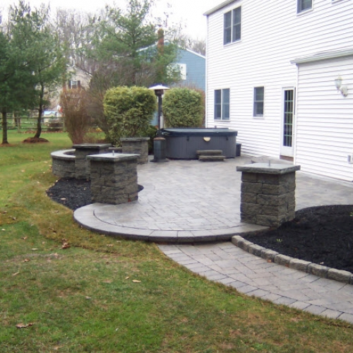 Patio and Walkway Dewane Landscape and Design