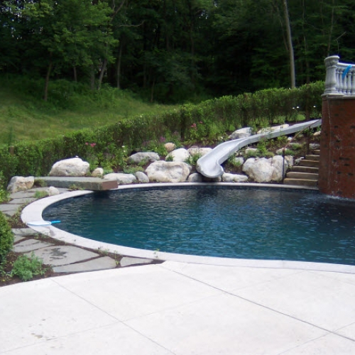 Pool Landscape Dewane Landscape and Design